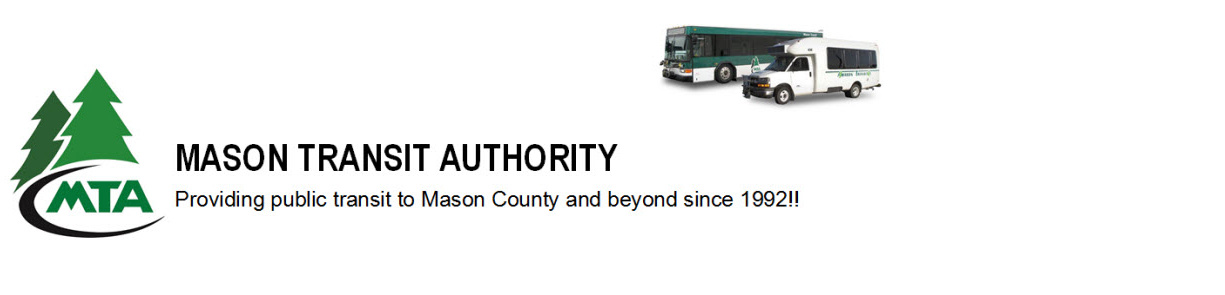 Bus Schedules – Mason Transit